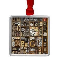letter g ornaments keepsake ornaments zazzle