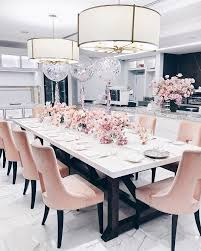 Best  Pink Dining Rooms Ideas On Pinterest Pink Dining Room - Interior design for dining room