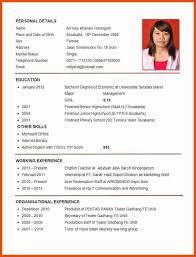 curriculum vitae for job application pdf good resume pdf moa format