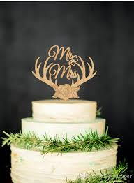 antler cake topper 2017 wood wedding cake topper deer antlers mr mrs monogram initial