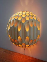Home Wall Lighting Design Beautiful Custom Designer Paper Lamps From Ambientart Com To