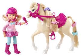 image barbie u0026 sisters pony tale doll chelsea horse