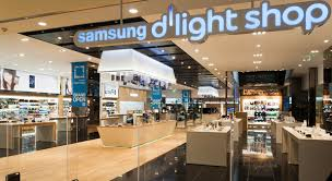 grand opening of samsung s d light shop an it cultural complex