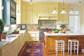 Kitchen Yellow - redecor your home wall decor with perfect stunning yellow cabinets