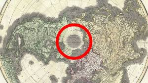 Agartha Map Flat Earth U0027s Hidden Arctic Continent Agartha Shambhala Hollow