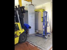 chambre forte manutention et montage d une chambre forte manulev