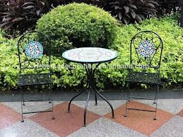 Mosaic Bistro Table Set Bistro Table And Chairs Bistro Table Set Amazing Of Bistro