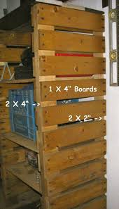 Building Wood Shelves Garage by 238 Best Get Organized Images On Pinterest Organization Ideas