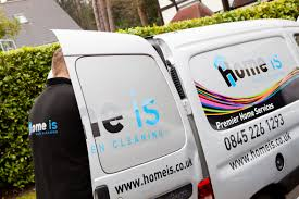 van graphics and branded t shirts for home is cleaning company