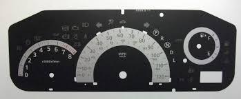 nissan serena 2006 nissan serena kmh to mph speedo meter clocks dials