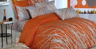 Comforter Orange Bedding Set Engaging Grey And Orange Bedding Canada Stimulating