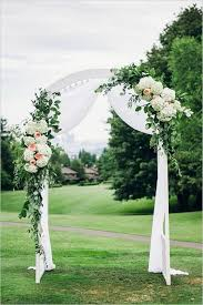 20 beautiful wedding arch decoration ideas white wedding arch