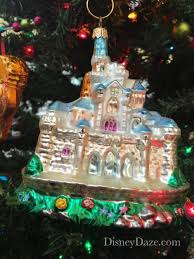 12 days of disney day 8 castle ornaments disneydaze