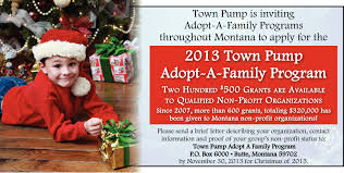 flyerboard town foundation adopt a family billings gazette