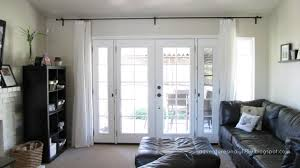 window treatments for french doors in kitchen day dreaming and decor