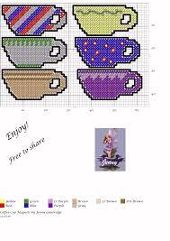 plastic canvas thanksgiving patterns tea cup magnets plastic canvas magnets ornaments pinterest