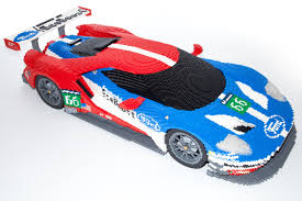 lego ford truck lego ford gt on display at le mans