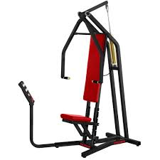 Seated Bench Press Seated Chest Press Machine Strength Training Keiser