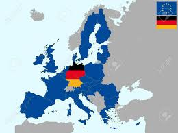 Germany On A World Map by Map Of Germany In Europe Roundtripticket Me