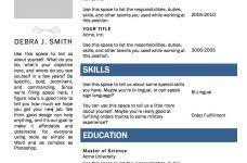 Free Microsoft Word Resume Template Interesting Decoration Microsoft Word Resume Template Free