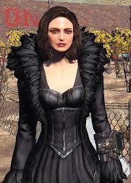 black feathered dress less raggedy version at fallout 4 nexus