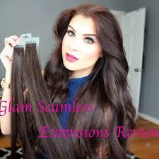 glam hair extensions glam seamless extension review glam seamless review