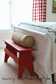 Red Bedroom Bench Best 25 Red Bench Ideas On Pinterest Diy Entryway Furniture