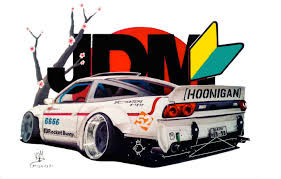 hoonigan nissan nissan 240sx rb drawing