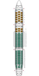 a340 seat map a340 300 config 1 finnair seat maps reviews seatplans com