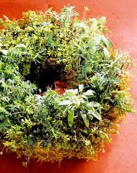 herb wreath make a fresh herb wreath