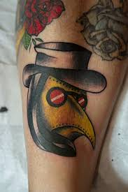 plague doctor traditional tattoo by genotas on deviantart