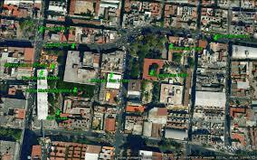 Tenochtitlan Map Mexico City Ambles Centro U0027s Four Indigenous Quarters San Pablo