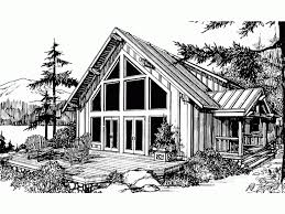 eplans chalet house plan one bedroom chalet 2273 square feet
