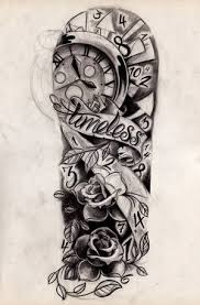 half sleeve designs