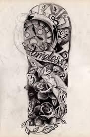 half sleeve designs