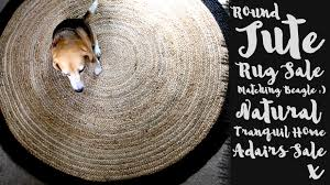 Jute Round Rugs by Round Jute Rug Sale Society Of Now