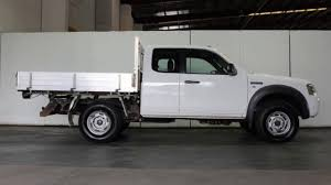 2008 ford ranger pj 07 upgrade xl 4x4 white 5 speed manual super