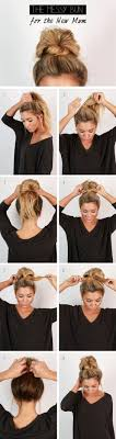 step to step hairstyles for medium hairs 26 amazing bun updo ideas for long medium length hair couples