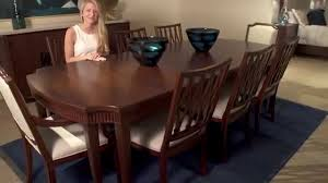 silhouette dining table by universal furniture youtube