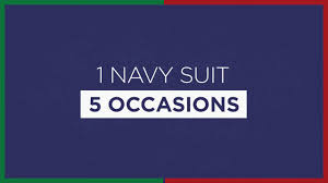 5 Tips To Style A Men U0027s Style Tips 5 Ways To Style A Navy Blue Suit Youtube