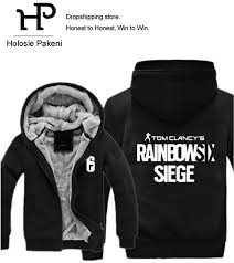 siege i size dropshipping usa size unisex rainbow six siege hoodies