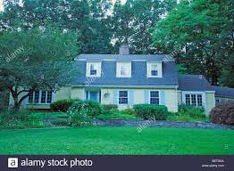 Dutch Colonial Style Dutch Colonial Style House In Connecticut New England Us Stock