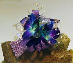 Wrist Corsages For Homecoming Wrist Corsage For Homecoming For Black Dress White And Blue