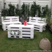 Pallet Garden Decor Attractive Outdoor Pallet Furniture Plans Pallet Wood Projects