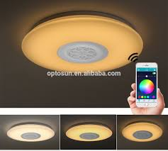 Wireless Ceiling Light Fixtures High Quality Wireless Remote Led Ceiling Light 40w Smart Music