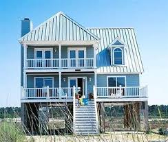 Southern Style Home Floor Plans Beach Cottage House Plans On Pilings More Inspiration Beach House