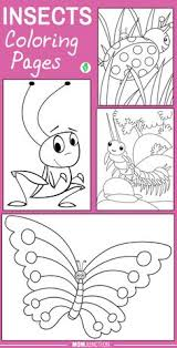 printable insects happy ant coloring sheet printable coloring