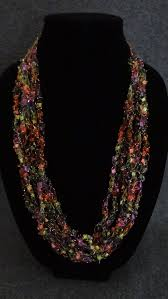 ladder ribbon 42 best ladder ribbon crocheted necklace how to images on
