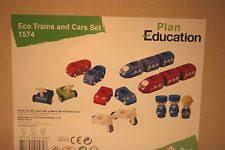 Plan Toys Parking Garage Wooden Set by Plan Toys Ebay