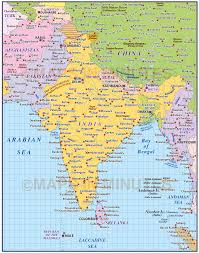 Map Scales Vector India Country Map 10m Scale In Illustrator And Pdf Format